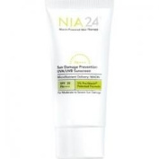 NIA24 Sun Damage Prevention UVA/UVB Sunscreen SPF 30/PA +++ 2.5 fl oz/75 ml