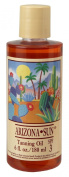 Arizona Sun Tanning Oil SPF 3 - 180ml - Natural Products With Aloe Vera and Plants and Cacti From the Desert - Moisturising Mineral Oil - Deep Dark Tan