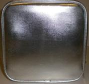Prescriptives Px Square Silver Cosmetic Makeup Bag