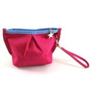 Vibrant Cosmetic Bag / Mini Clutch - Magenta