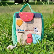 [Any Mail.] Embroidered Applique Cosmetic Bag / Camera bag / Hand Purse Wallet