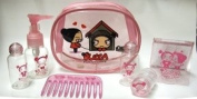 Pucca Funny Love Clear Cosmetic Bag W Accessories