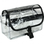 Kingsley Travel Cosmetic Bag, Ugandan Bark Wood Pencil Case