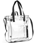 EastSport Large Clear Tote Bag