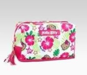 Hello Kitty Cosmetic Pouch Hibiscus