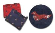 Dachshund (Longhair) Cosmetic Bag