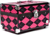 SOHO Argyle Beauty Case - Pink