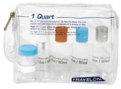 Travel Accessories Travelon 0.9l Zip Bag with Plastic Bottles