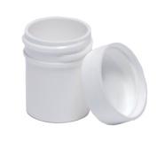 Plastic Ointment Jars With Lids 1/60ml 10/pkg