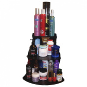 Corner Shelf Cosmetic organiser 40.6cm High. Great for Organising Bathroom counter or Make Up Table..No More Clutter! Proudly Made in the USA! by PPM.