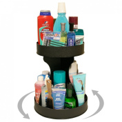 Tall Bottle Organiser and Spins for Easy Access. No More Clutter! Saves Space , Only 30.5cm of Counter Space Needed. Just a Twirl and Everything is at Your Fingertips! Has 5.1cm High Sides. Proudly Made in the USA ! by PPM