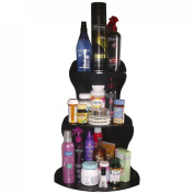 Cosmetic Organiser Corner Shelf 61cm High. No more clutter! Almost Triples your Storage Space on Your Countertop, Dresser or Desk. Proudly Made in the USA! by PPM.