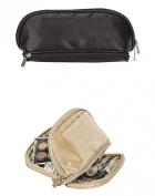 Cosmetics Travel Overnight Toiletry Organiser Bag-gold
