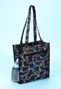 Musical Note Tote Bag Makeup Clothes Books School Office