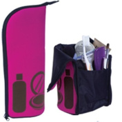 Travel Tote Toiletry Bag Pink