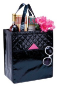 Maxine Black Lady Shopping Grocery Quilted Tote Bag