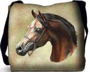 Arabian Horse Tote Bag - 17 x 17 Tote Bag