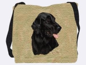 Flatcoated Retriever Tote Bag - 17 x 17 Tote Bag
