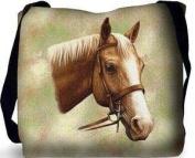 Palomino Horse Tote Bag - 17 x 17 Tote Bag