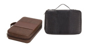 Deluxe Croc Leather Cosmetic Case Oragnizer