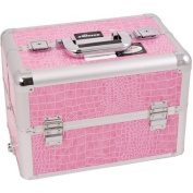 Professional Cosmetic Makeup Case with Divider and Interchangeable Easy Slide Tray Colour
