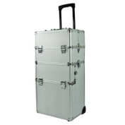 5.1cm 1 Professional Rolling Makeup Artist Case Heavy Duty Cosmetic Make Up Rolling Train