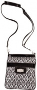 Broadway Black Sidekick * Flaunt Handbag NWT Patent Liquid Gloss 92051