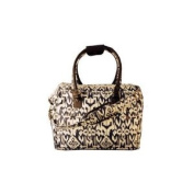 Rugged Travel City Bag, Navy Ikat Pattern, Large and Roomy