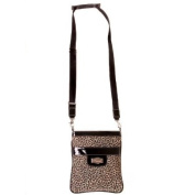 Safari Chic Sidekick * Flaunt Handbag NWT Patent Liquid Gloss 92052