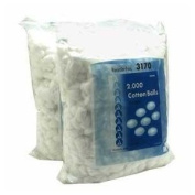 Cotton Balls Medium Non-sterile 4000/box