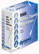 4302 PT# 4302- Cotton Tip Applicator N/S 15.2cm 10000/Ca by, Dynarex Corporation