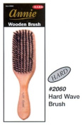 Annie Natural Boar Bristle Hard Wave Brush #2060