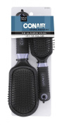 Conair Professional Full and Mid Size Wire Cushion Brush Set