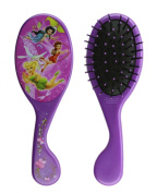 Purple Tinkerbell Hair Brush - Disney Fairies Hair Brush