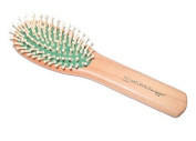 The Naturals By Comare 8-row Oval Cushion Wood Brush # N 136