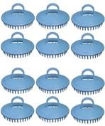 Century Shampoo Scalp Massage Brush #100 * Blue * 12 - Brushes