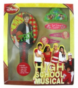 Disney High School Musical Hair Care Set - 5pcs HSM Hair Brush and accessories