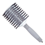 Olivia Garden Ceramic Ionic and 100% Boar Bristles Oval Vented Hair Brush