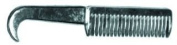 Pulling Comb with Pick, 20.3cm Silver