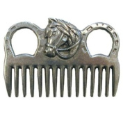 Intrepid International - MANE COMB aluminium W/HORSEHEAD