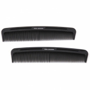 Vidal Sassoon 12.7cm Pocket Combs, 2 Count