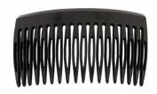 Premium Side Comb European Made in Black 9556