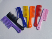 Large Tooth Detangle Comb Shampoo Wide Teeth Comb Hair Salon Shampoo Comb 24.1cm