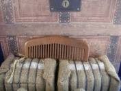 """Country Gent"" Wide Tooth Wood Comb"