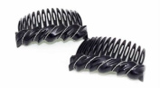 Premium Side Comb European Made in Black Wave 1057/2