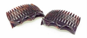 Premium Side Comb European Made in Tortoise Triangle 1057/2