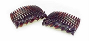 Premium Side Comb European Made in Tortoise Wave 1057/2