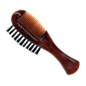Gold-Dachs Dittmar Moustache and Beard Comb/Brush comb