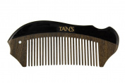 Tan's Black Horn Scraping and Massage Comb 3
