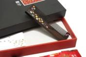 Tan's Wood Comb Gift Set Mosaic Comb 2
